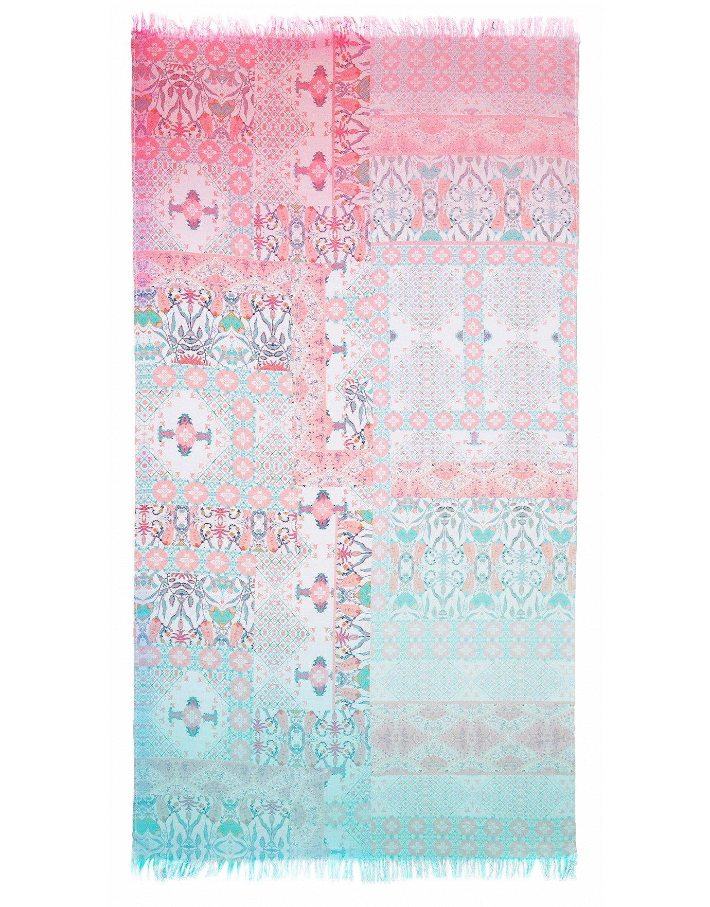Seafolly Free Spirit Ombre Towel - Fresh Mint
