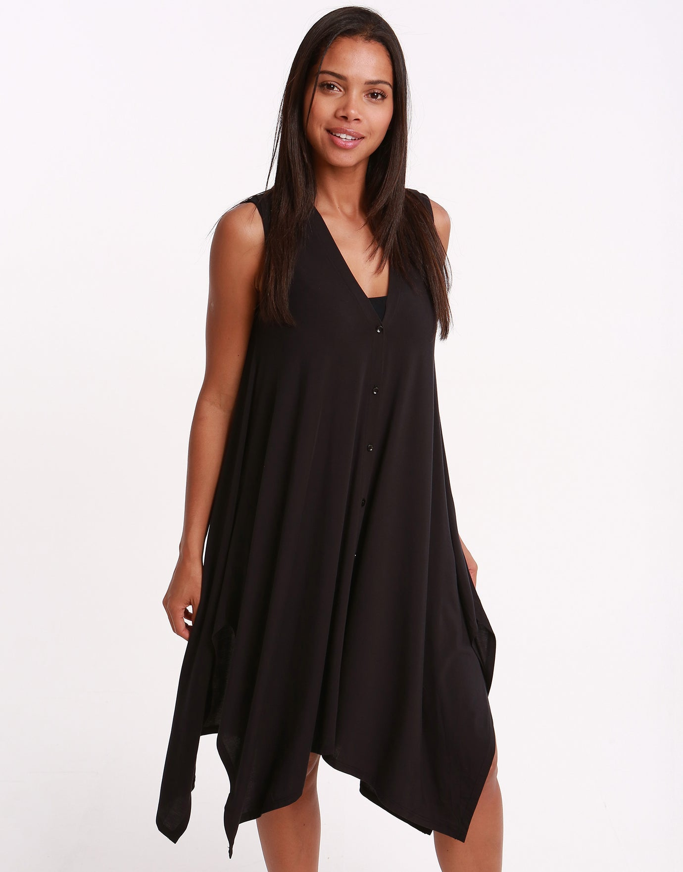 Gottex Profile Bel Air Jersey Dress - Black