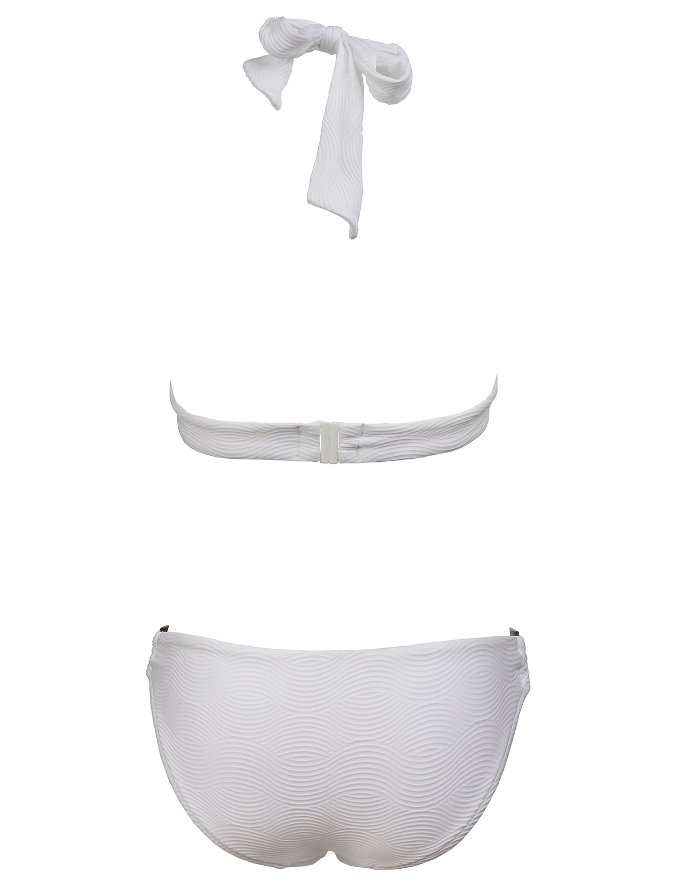 Seafolly Capri Sea Ring Side Hipster - White