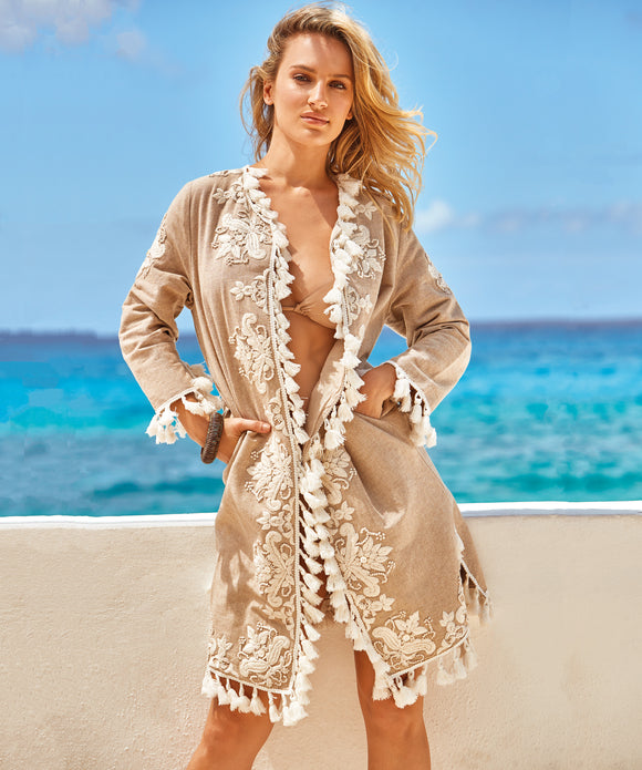Iconique Summer Kaftan - Sand
