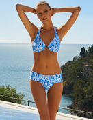 Melissa Odabash Brussels Fold Bikini Bottom - Waterfall