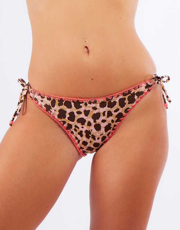 Banana Moon Cheetah Avora Bikini Bottoms - Sand