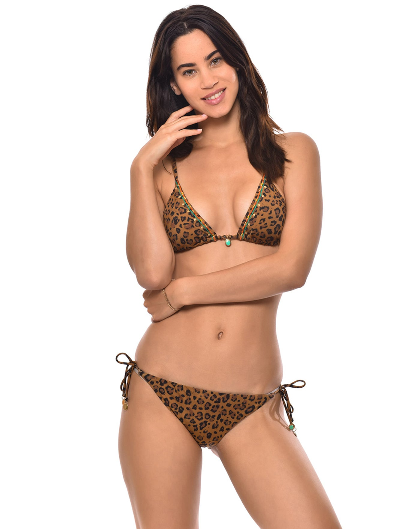 Banana Moon Couture Serengeti Tosca Tie Bikini Bottom - Brown