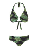 Melissa Odabash Brussels Underwire Bikini Top - Palm Black