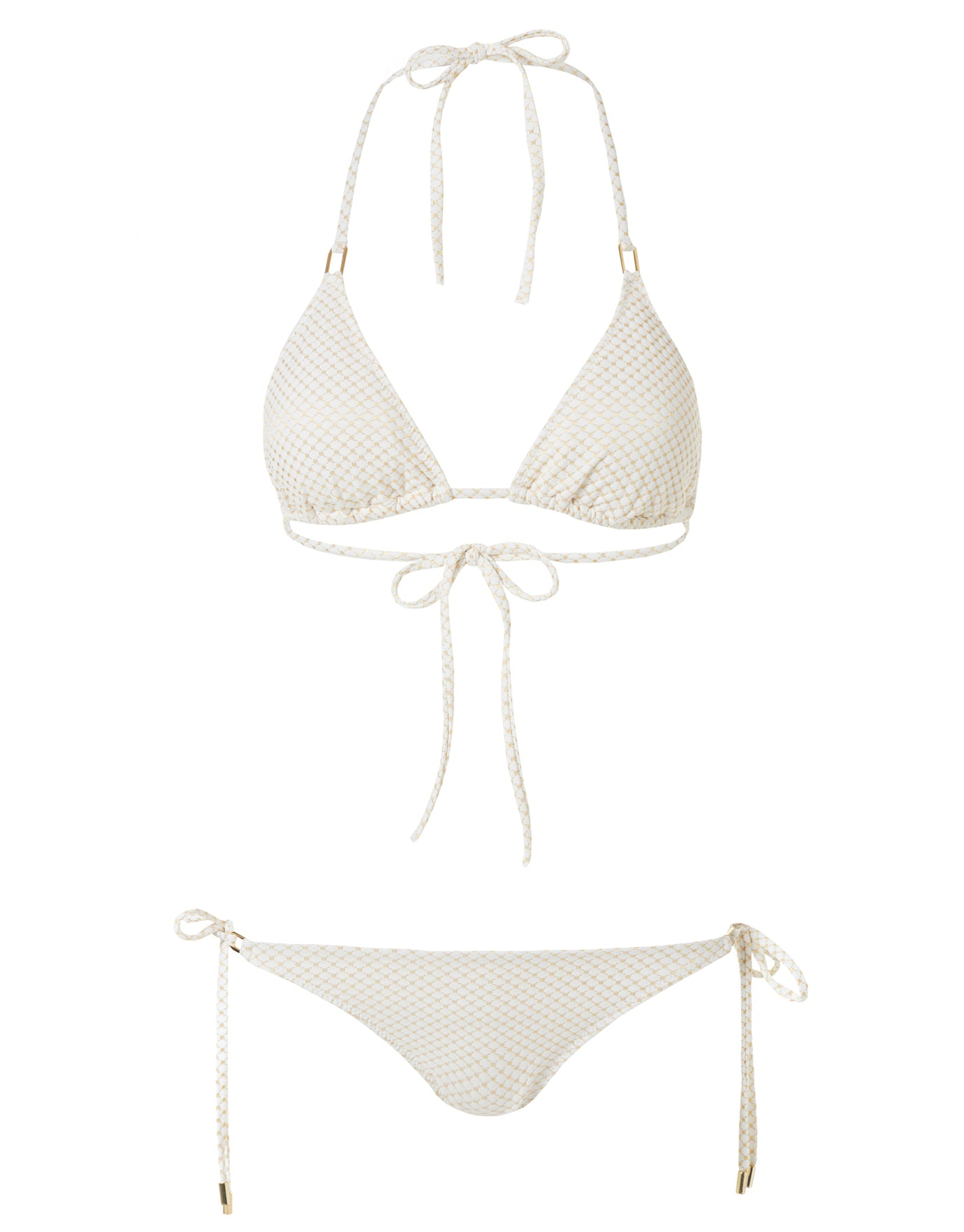 Melissa Odabash Cancun Classic Triangle Bikini Bottom - Hexagon