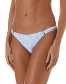 Melissa Odabash Martinique Trim Bikini Bottom - Amalfi Celeste