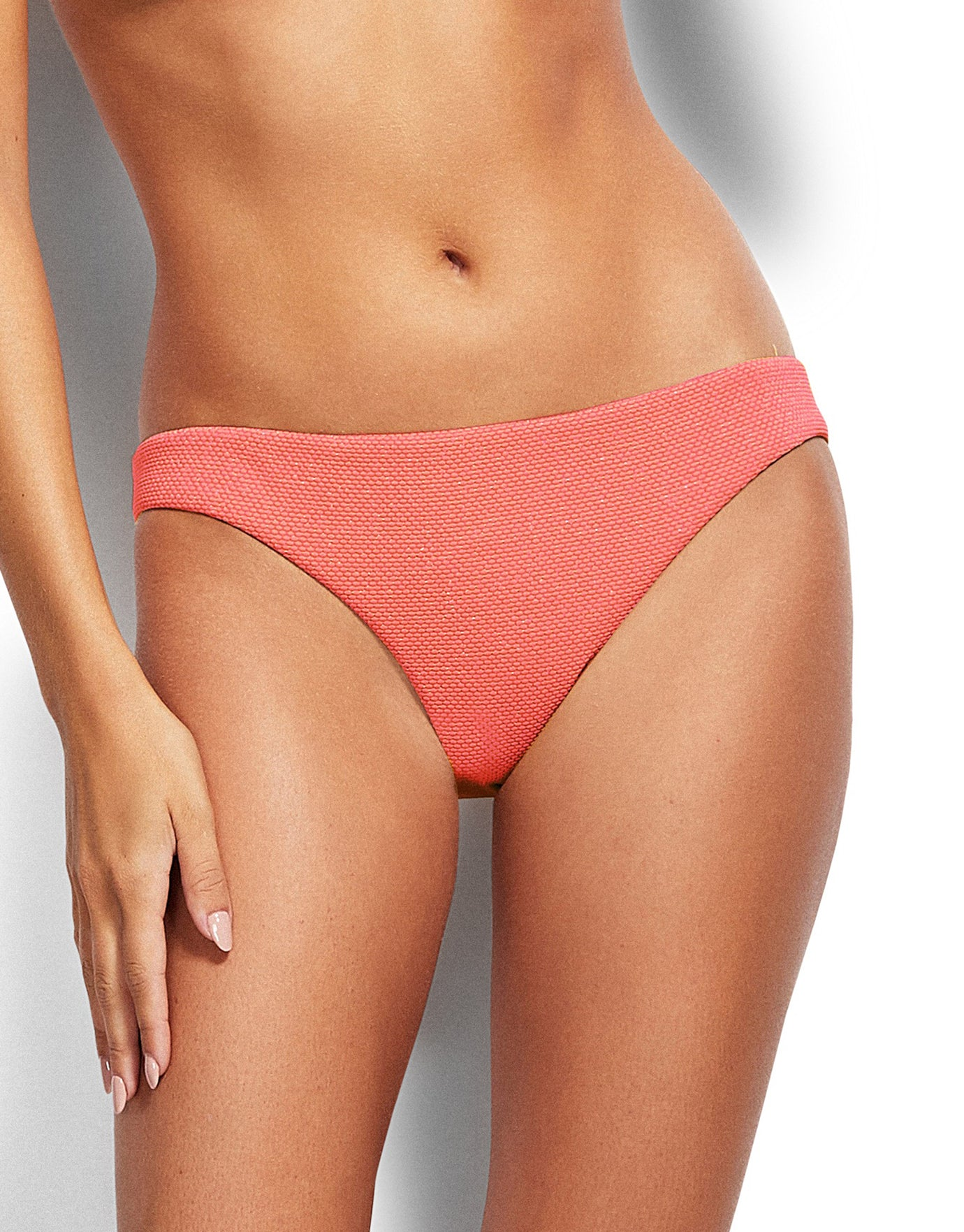 Seafolly Stardust Hipster Bikini Bottom - Antique Coral
