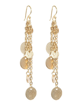 Ashiana Alena Earrings - Gold