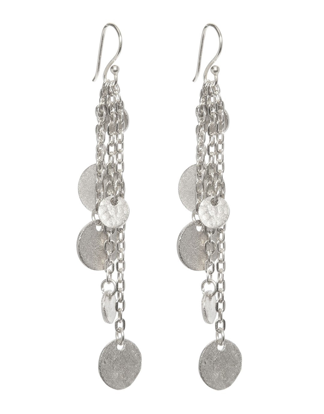 Image of Ashiana Alena Earrings - Silver