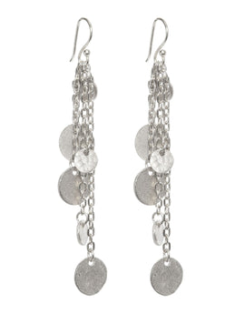 Ashiana Alena Earrings - Silver
