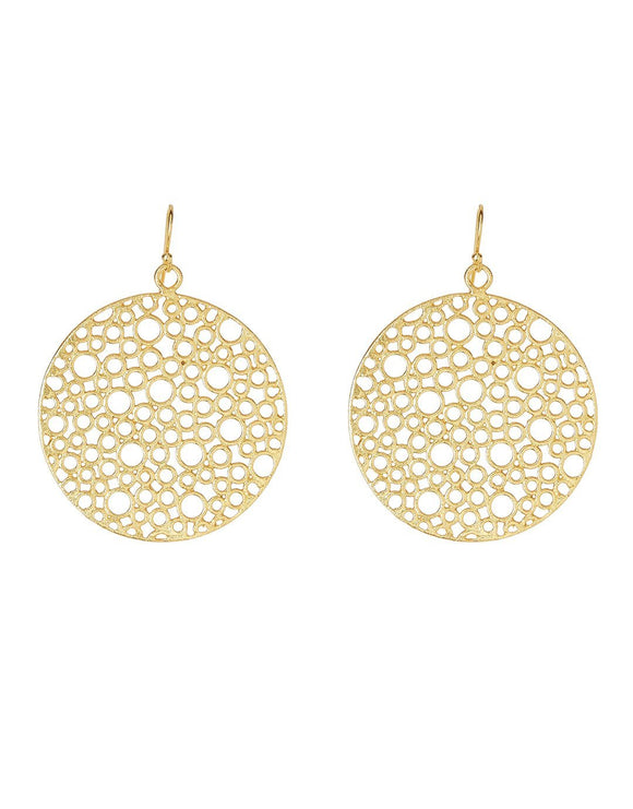 Ashiana Bubble Earrings - Gold
