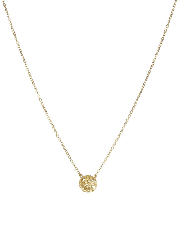 Ashiana Coin Necklace - Gold