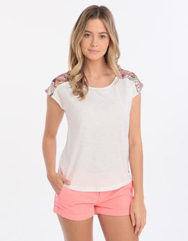Banana Moon Fortuna Kaiya Tee - White
