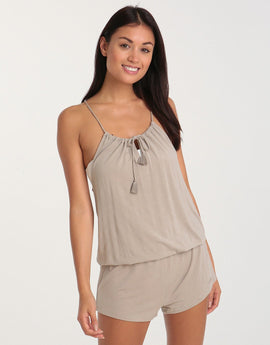 Banana Moon Stinson Wilder Playsuit - Beige