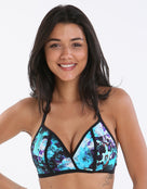 Freya Atlantis Soft Triangle  Bikini Top - Lagoon