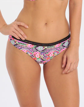 Freya Texas Rose Bikini Brief - Rebel Pink