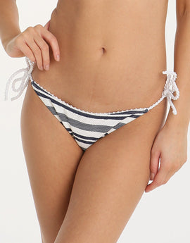Heidi Klein Marthas Vineyard Rope Tie Side Pant - Stripe