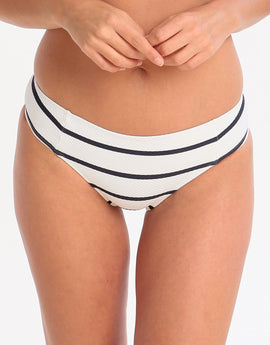 Heidi Klein Nautical Textured High Rise Bottom - Stripe