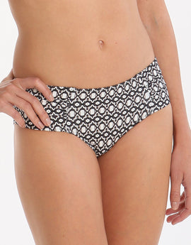 Heidi Klum Swim Kiss by the Sea Midrise Pant - Geo Print