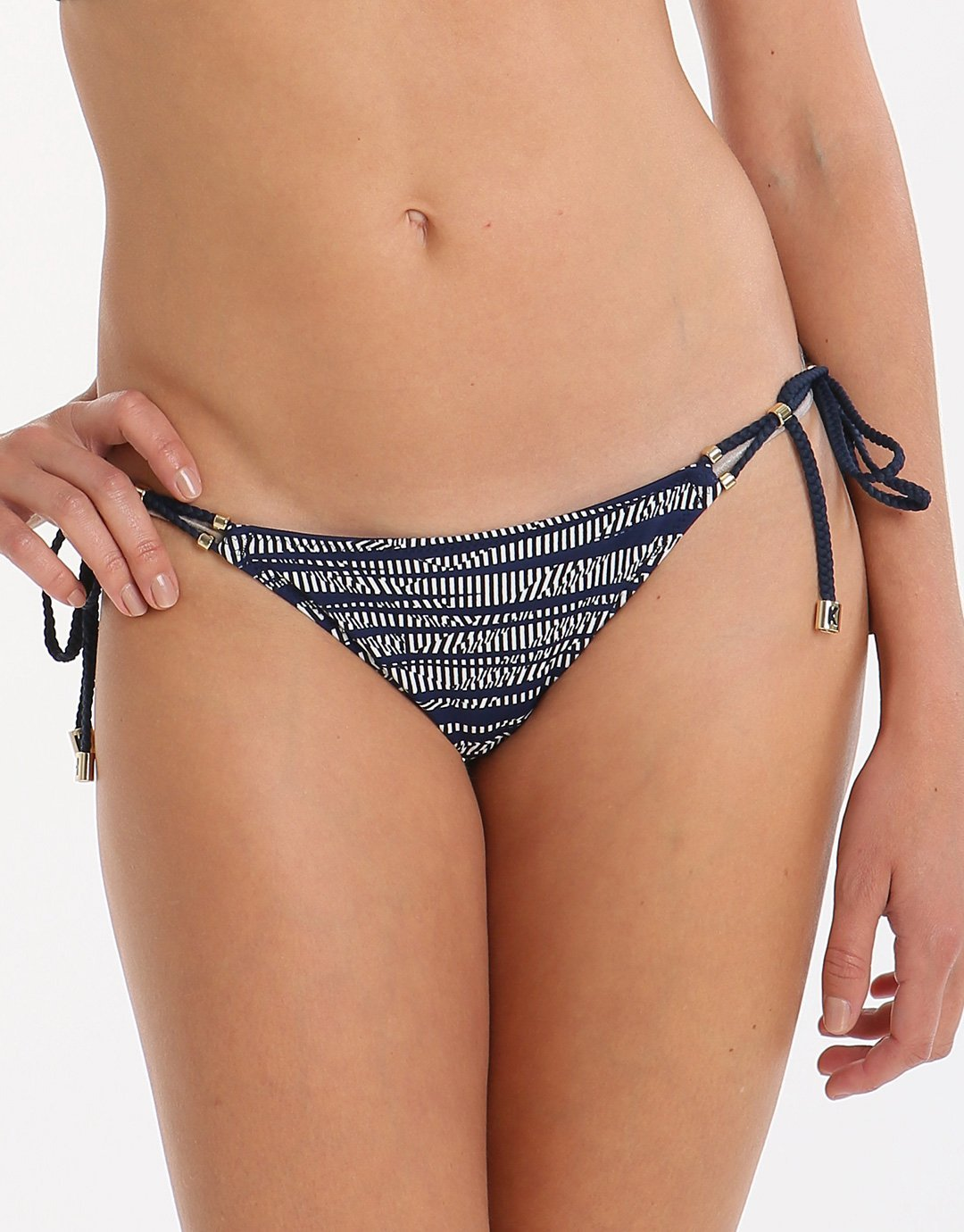Heidi Klum Swim Sun Muse Tie Side Pant - Stripe