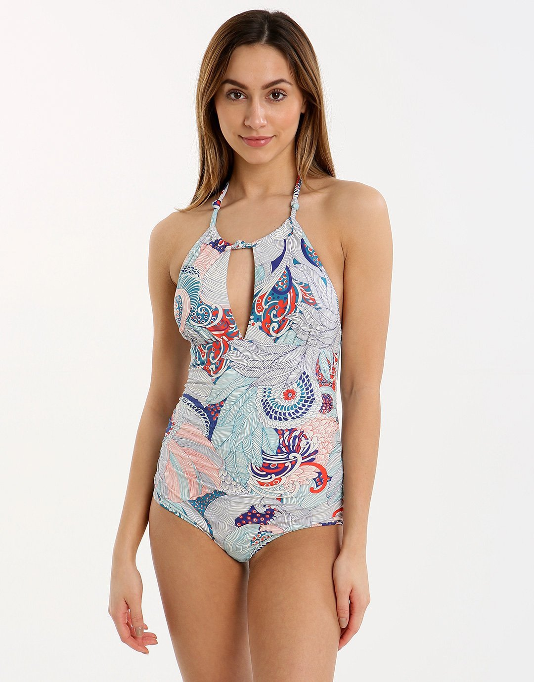 Huit Overjoyed Swimsuit - Malibu Blue