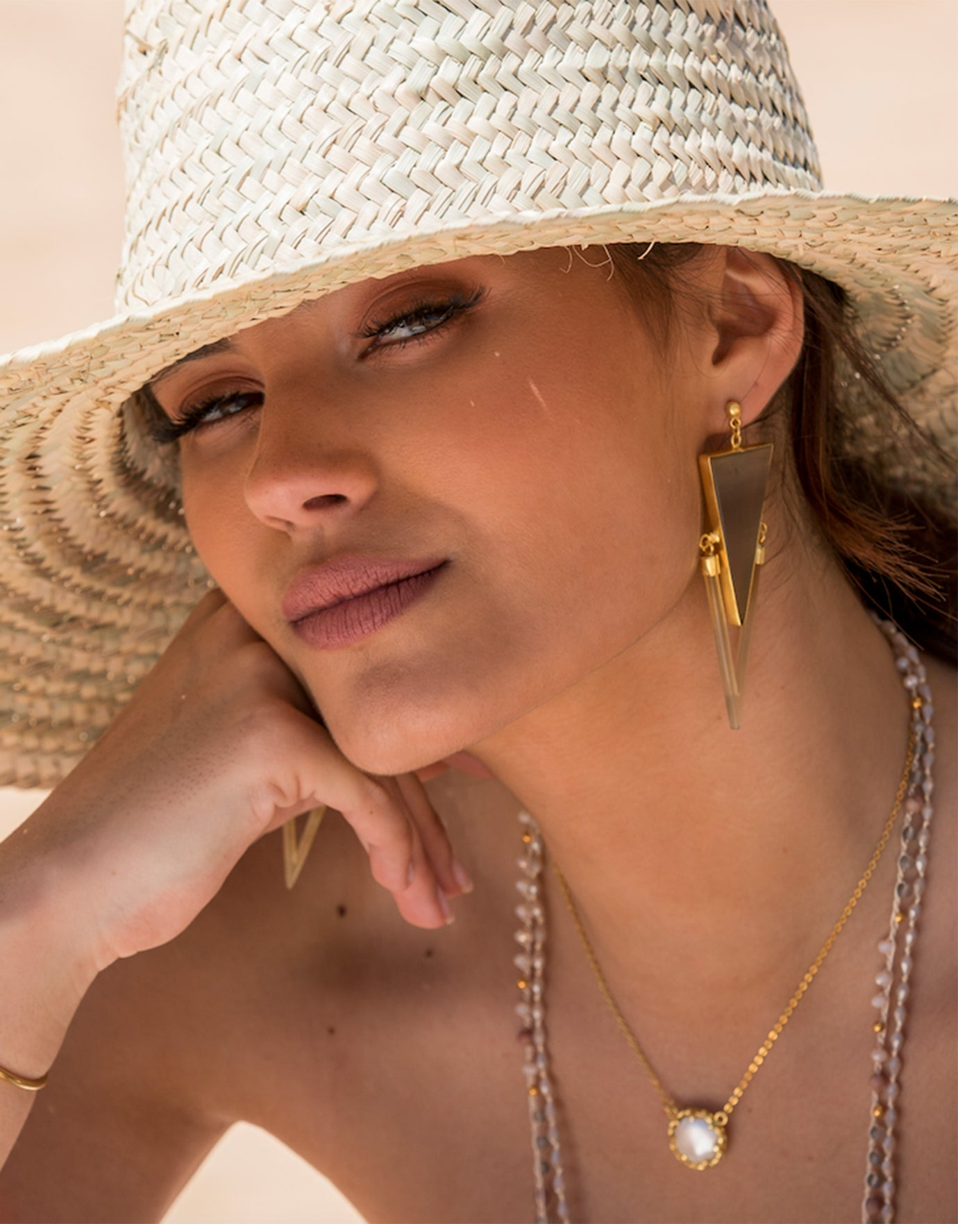 Ashiana Algarve Earrings - Gold