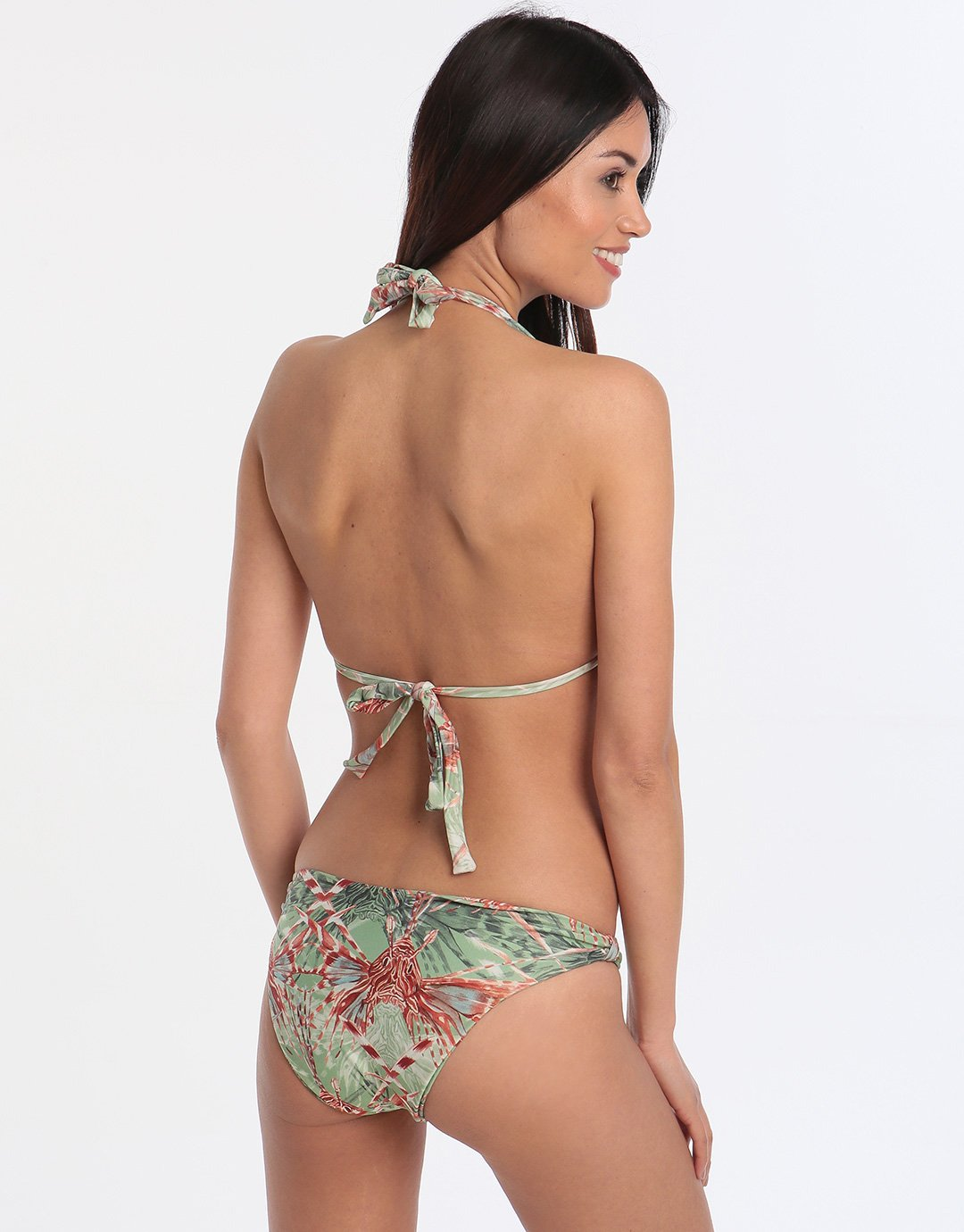 Lenny Niemeyer Atlantis Adjustable Halter Bikini - Print
