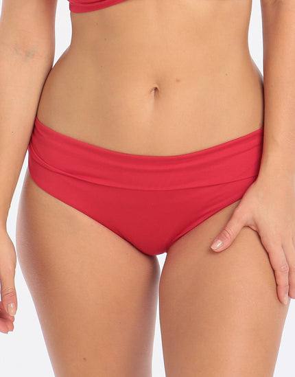 Lepel Lagoon Fold Pant - Red