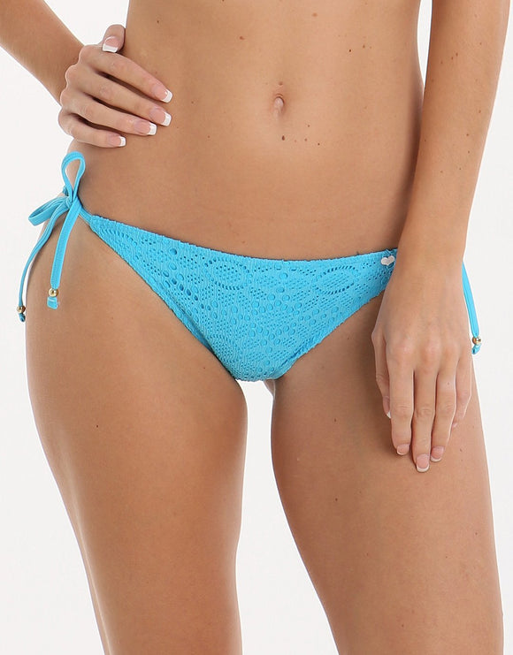 Lepel Summer Days Tie Side Pant - Turquoise