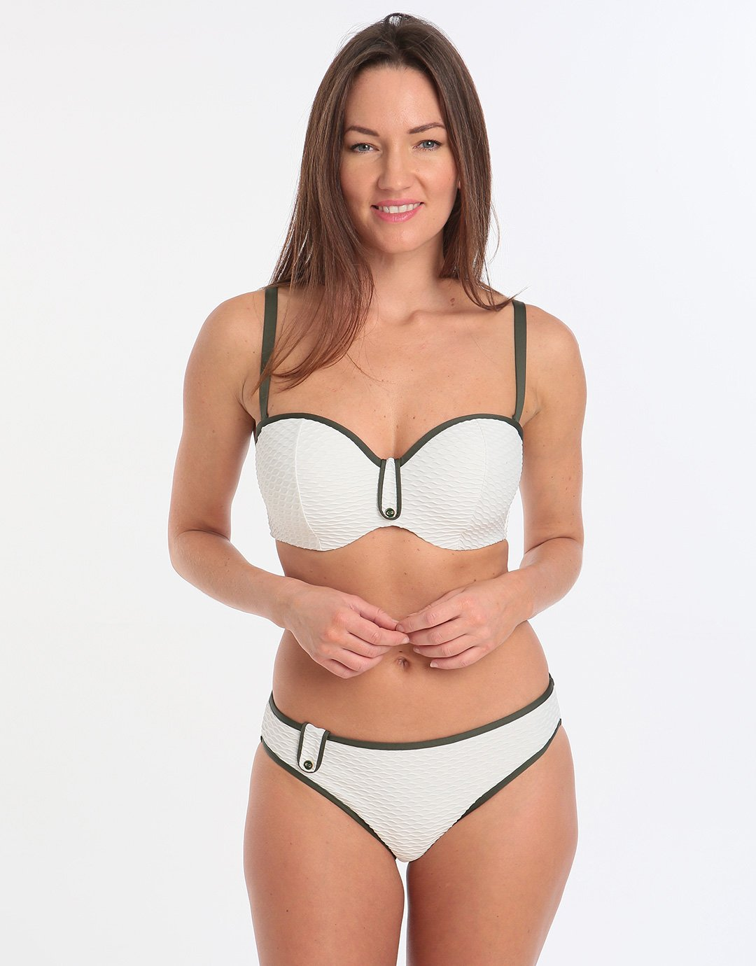 Marie Jo Brigitte Rio Bikini Brief - Natural