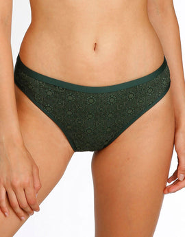 Marie Jo Romy Rio Bikini Briefs - Palm Tree