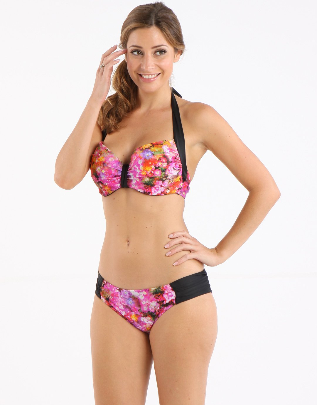 Panache Savannah Gathered Pant - Floral