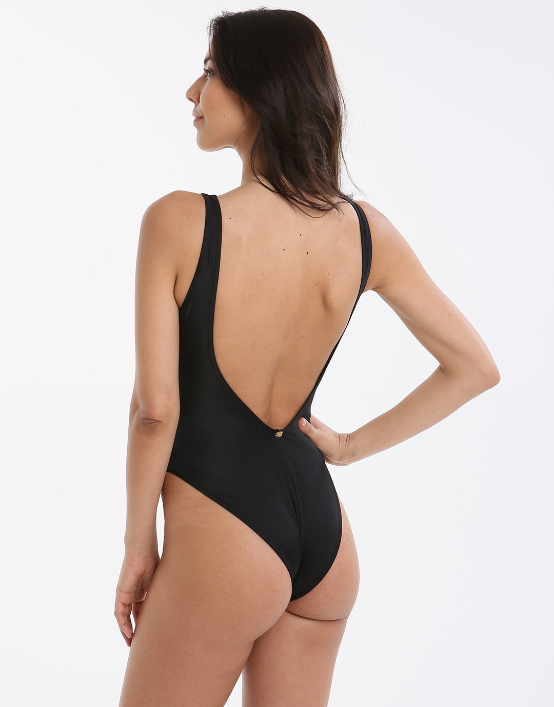 Phax Poons Lattice One Piece - Black