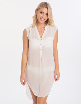 Pia Rossini Sancha Tunic - White