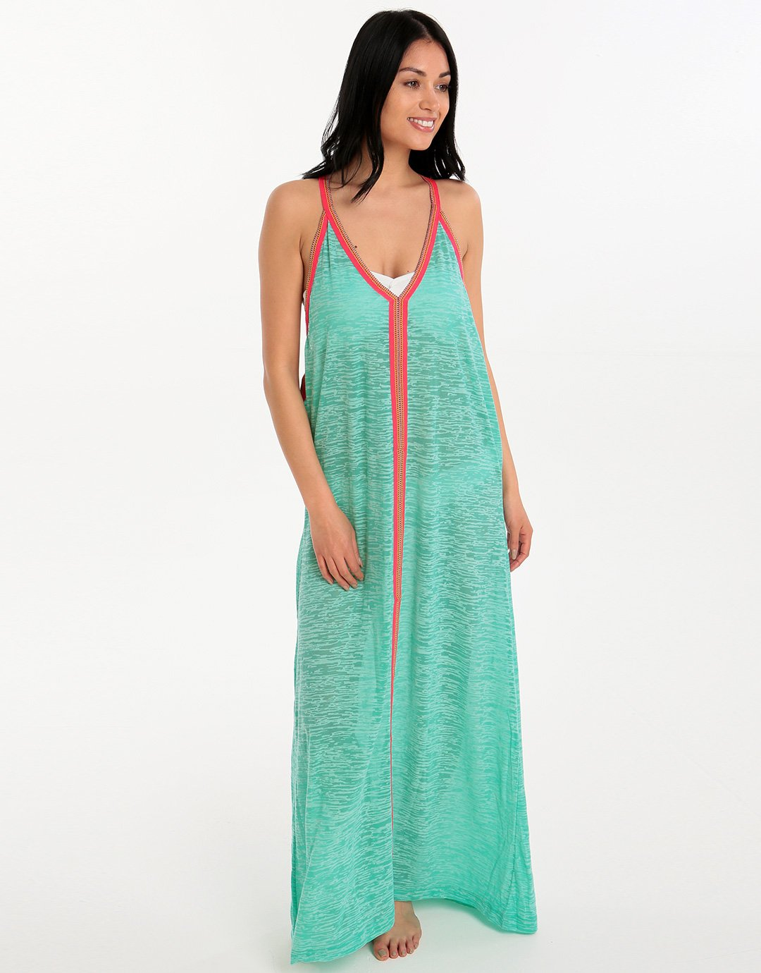 2555567cc6 Pitusa Inca Sun Dress - Mint | Simply Beach UK