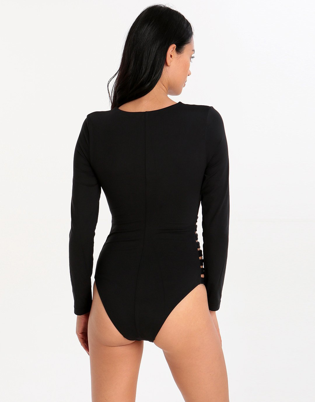 Seafolly Active Multi Strap Surfsuit - Black