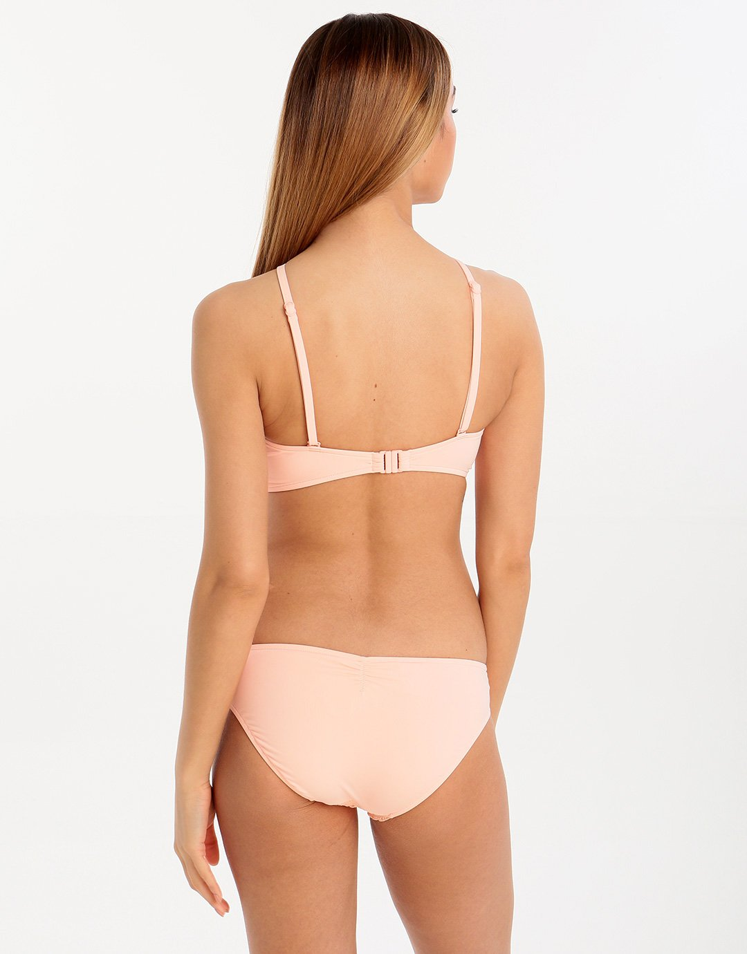 Seafolly Havana High Neck Tank Top - Peach
