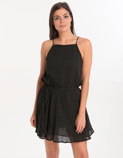 Seafolly Ladder Tape Dress - Black