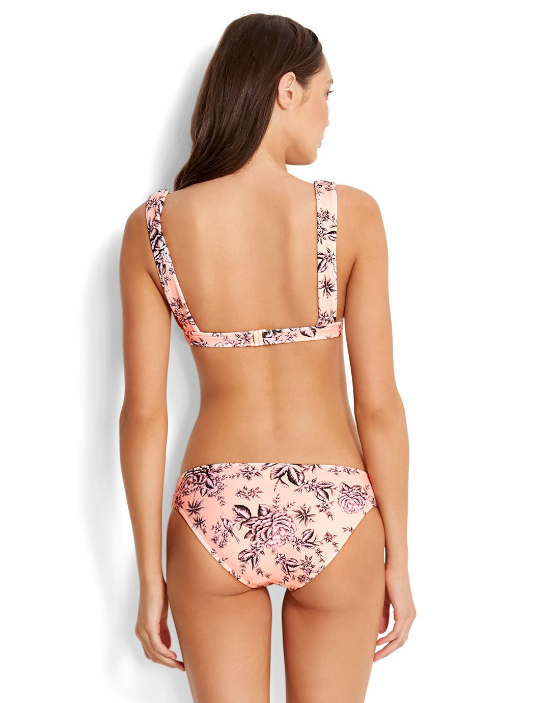 Seafolly Love Bird Hipster - Peach