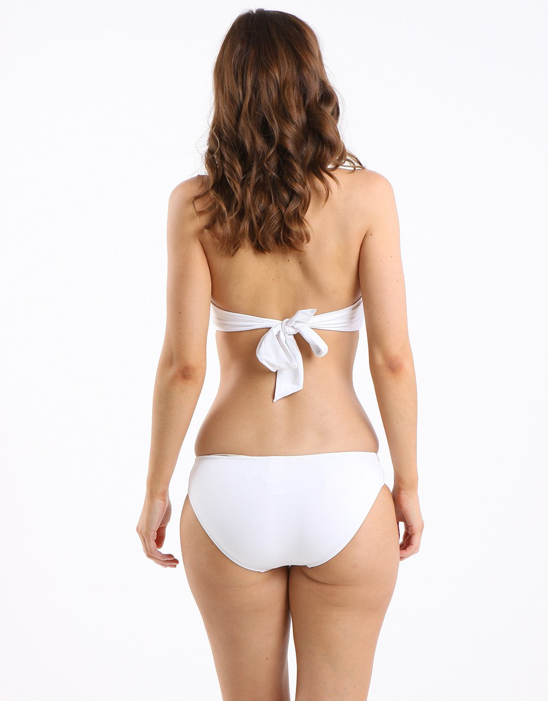 Seafolly Pleated Hipster - White