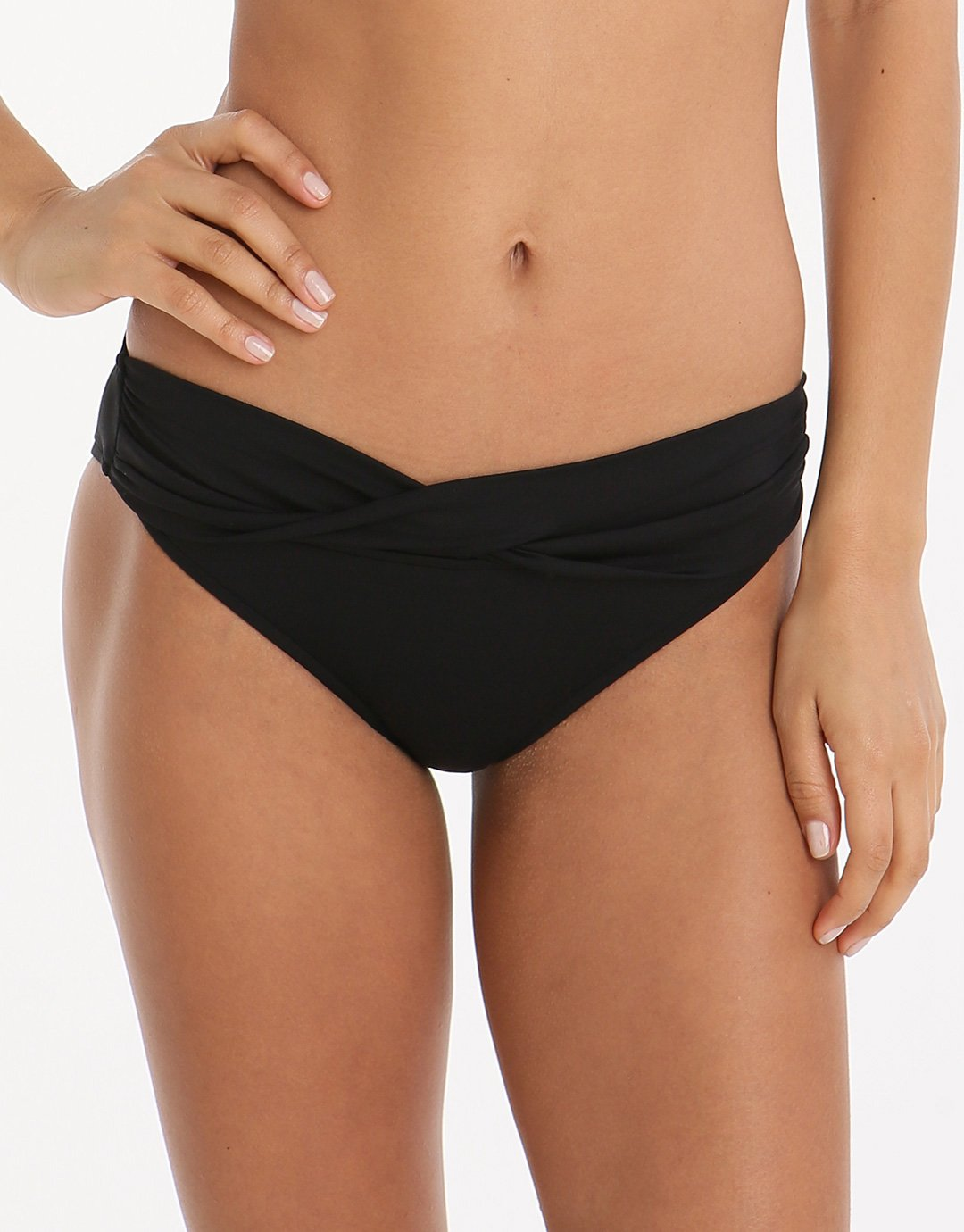 Seafolly Twist Band Hipster - Black
