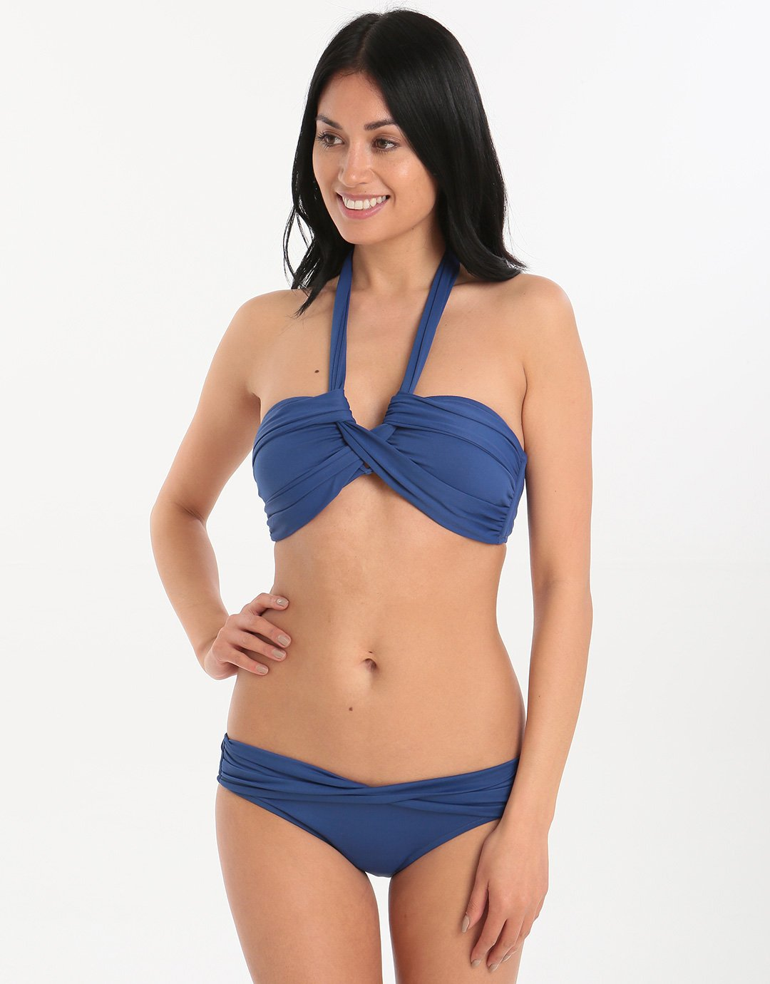 Seafolly Twist Band Hipster - French Blue