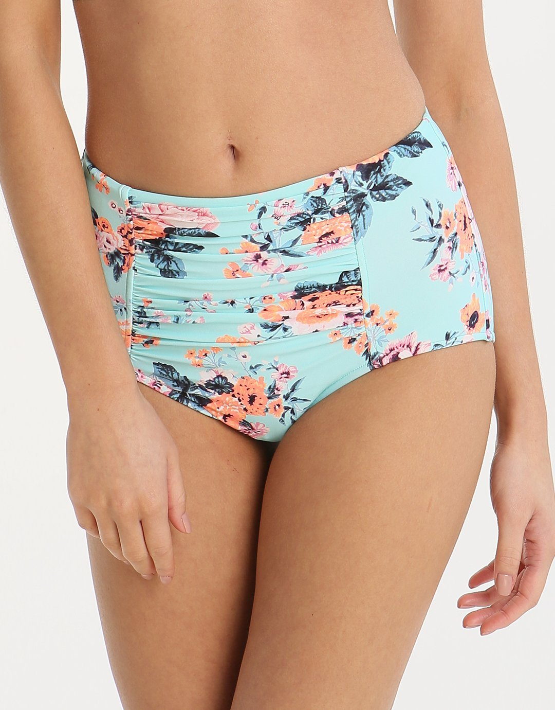 Seafolly Vintage Wildflower High Waisted Pant - Iceberg