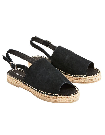 Seafolly Wild and Free Espadrille - Black