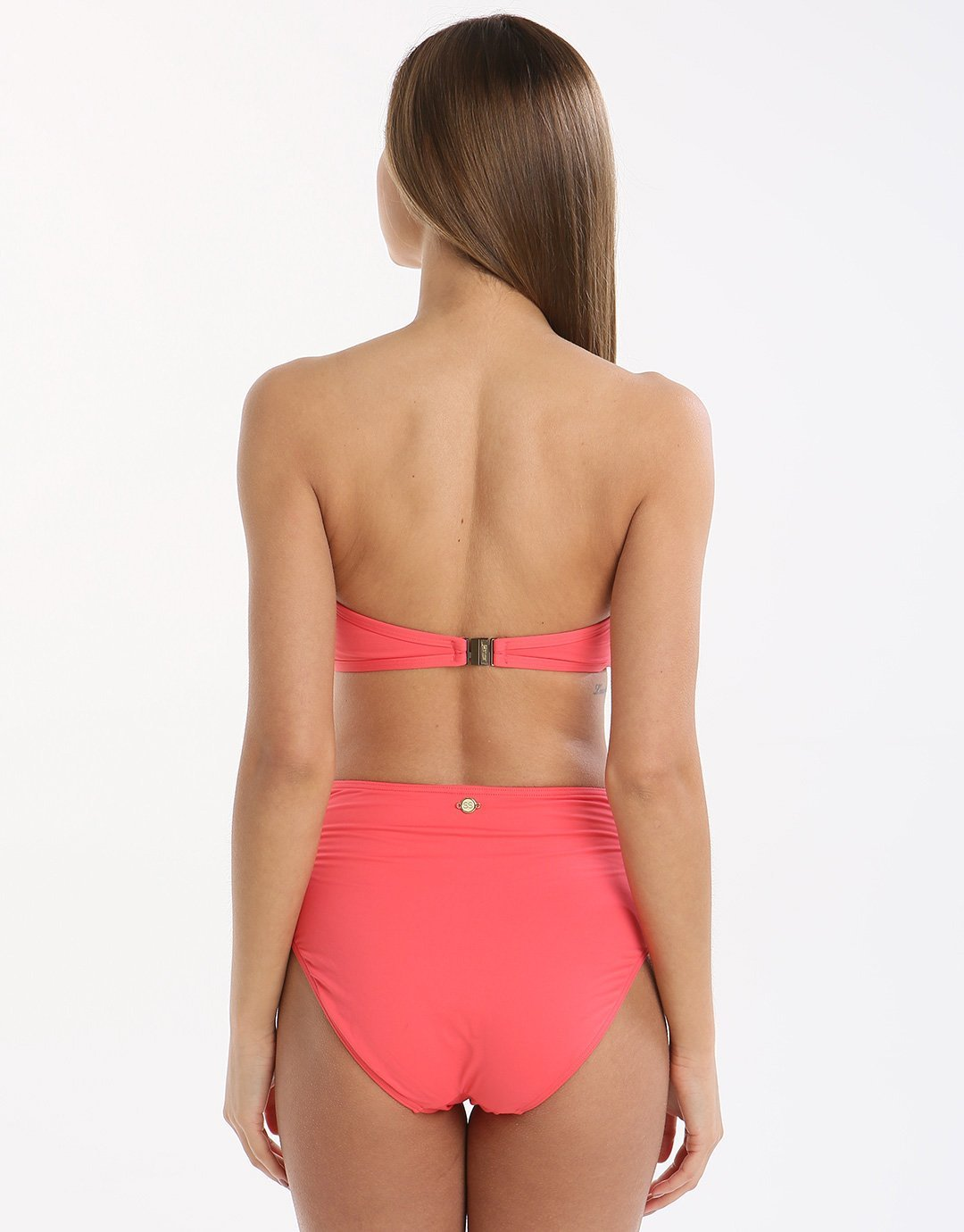 Sunseeker Solid Bandeau Top - Rouge
