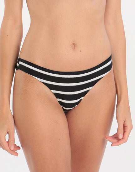 Watercult Active Stripe Hipster - Black White