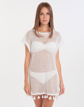Watercult Knit Tunic - White