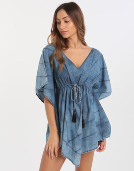 Watercult Tunic - Indigo