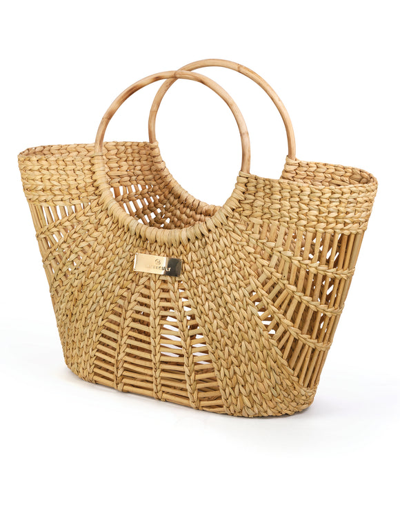Watercult Rattan Basket Bag