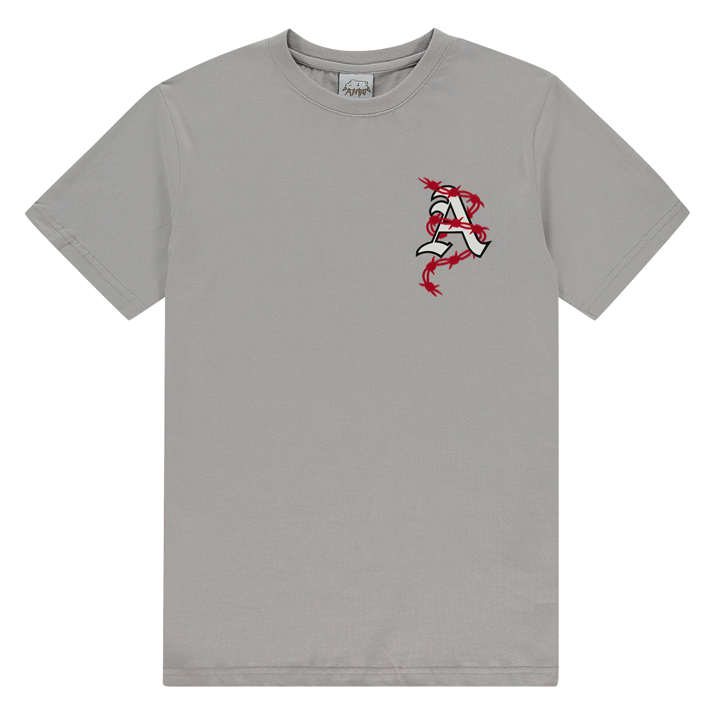 ANBU GANG TOUGH LOVE TEE GREY
